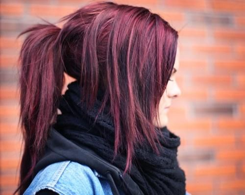 #beauty #hair #purplehair this is going to be my fall hair color