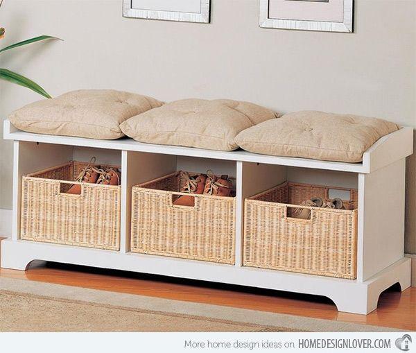 15 Depozitare Bench modele pentru dormitor | Acasă Lover de proiectare