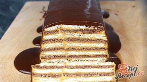 Rychlý nepečený dort se salkovým krémem připraven za 15 minut
