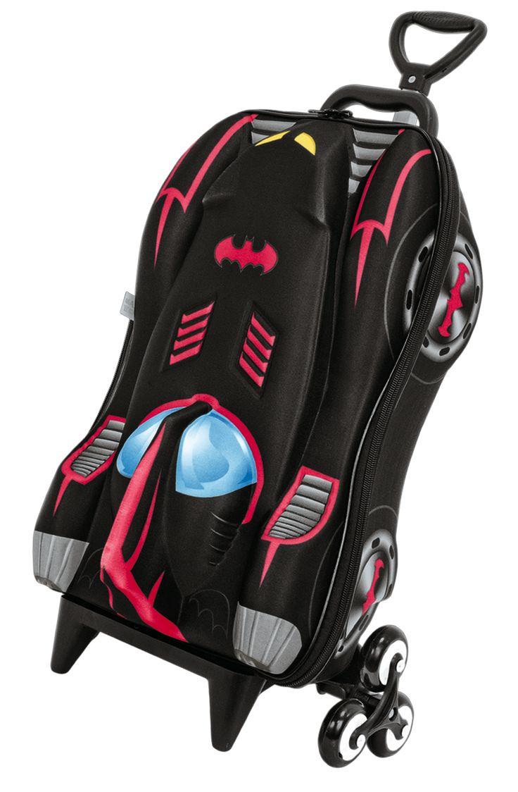 Kid rolling luggage bag trolley roller handbag 18 spider man picture