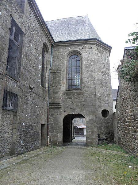 Guingamp (Côtes d'Armor) - Couvent des Ursulines - détail - XVIIème