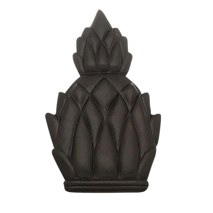 Door Knocker Black Cast Iron Pineapple 6