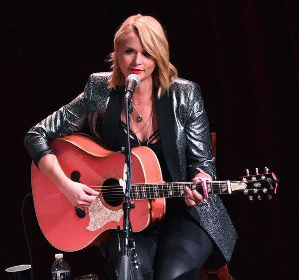 Miranda Lambert Photos Photos - (EXCLUSIVE COVERAGE) Singer songwriter Miranda Lambert performs onstage during Roadside Bars and Pink Guitars: Unplugged at City Winery Nashville on January 20, 2016 in Nashville, United States. - Miranda Lambert Performs at City Winery in Nashville