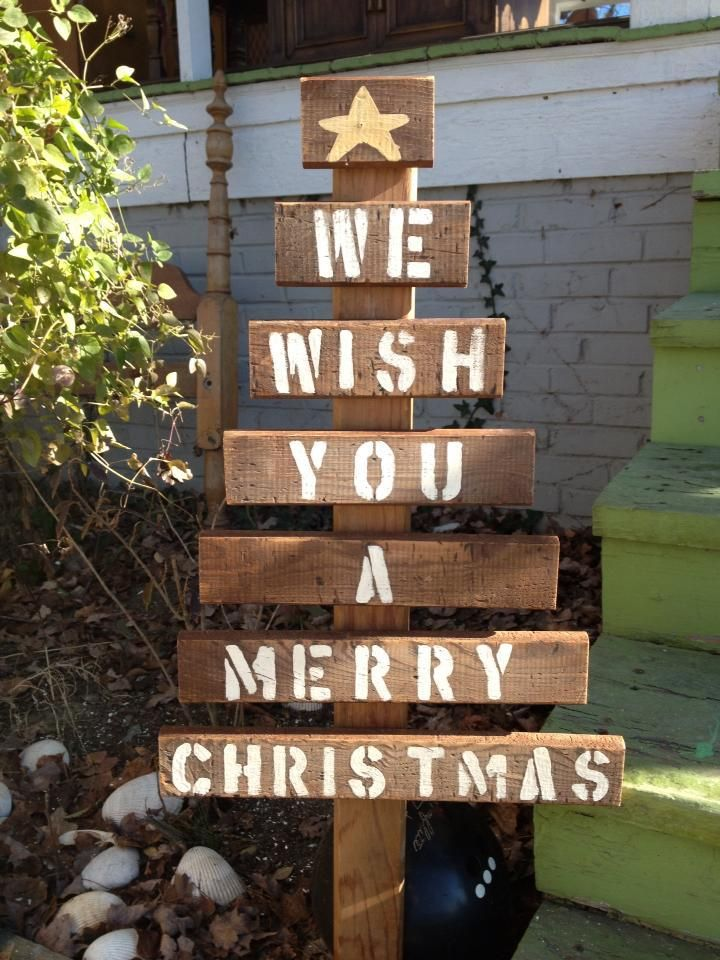 "from a palette ""we wish you a merry Christmas"" EASY!"