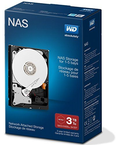 From 93.83:WD Red 3TB NAS Desktop  Hard Disk Drive - Intellipower SATA 6 Gb/s 64MB Cache 3.5 Inch
