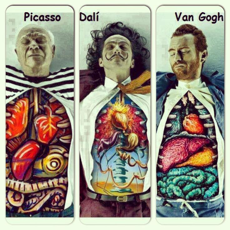 Dissected: Dali, Picasso & van Gogh / Marcos Falcão x DDB Brazil ...