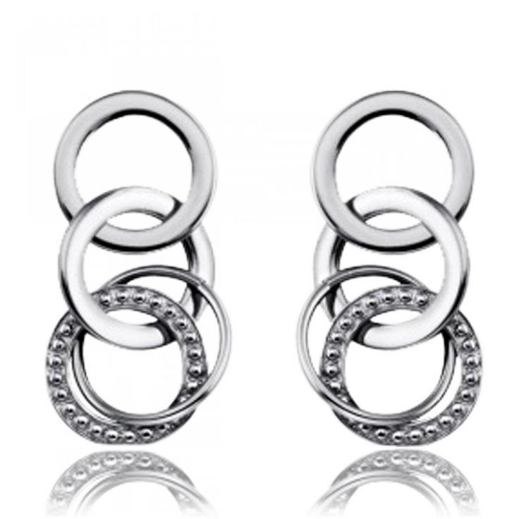 Trio strass Earrings - Xc38