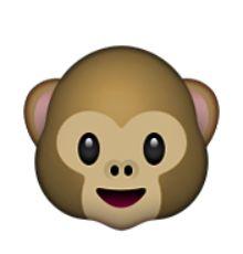 visage de singe   Émoticônes   Pinterest   Outils et iPhone