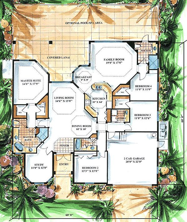 419 best floor plans images on pinterest house floor for Brodie house plan
