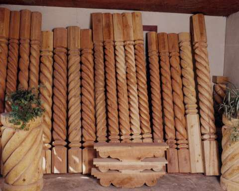 1000 images about stone and wood columns on pinterest for River rock columns