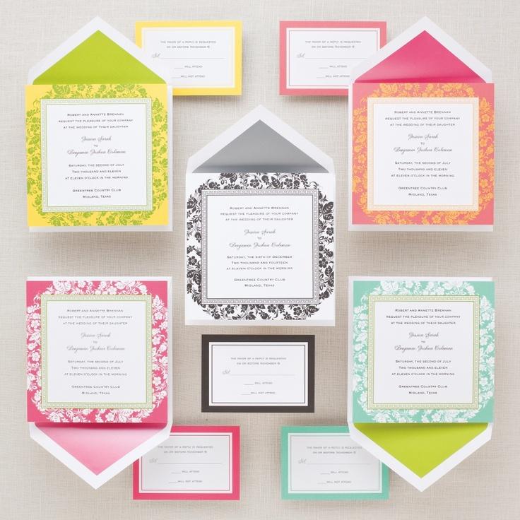 Love's the Key Wedding Invitation | #exclusivelyweddings | #limegreenwedding