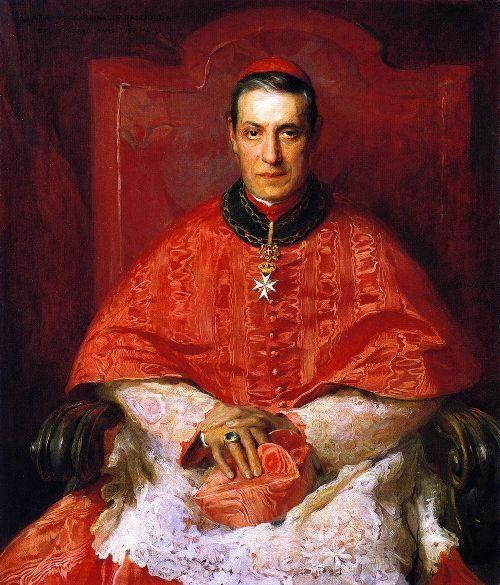 Mariano Rampolla del Tindaro (1843 – 1913), Cardinale Segretario di Stato di Leone XIII.