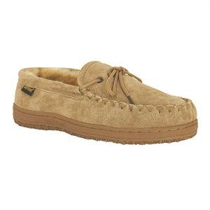 Old Friend Slippers Men's Loafer Moccasin in Chestnut
