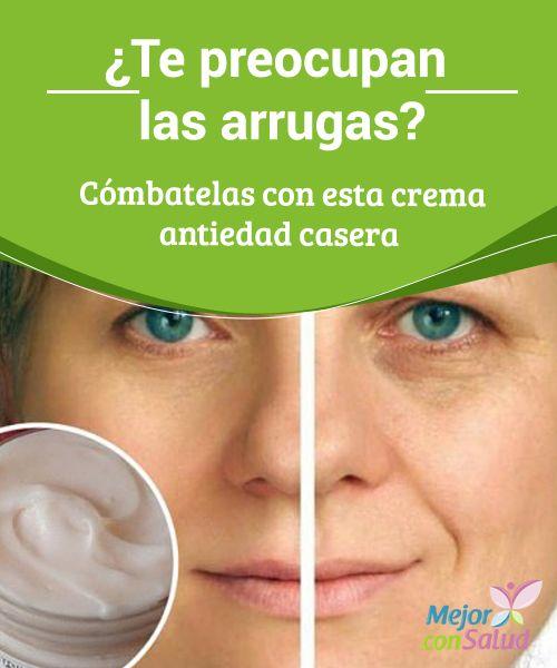 ¿Te preocupan las arrugas? Cómbatelas con esta crema antiedad casera   Te compartimos la receta de una crema antiedad casera para corregir las imperfecciones de tu rostro y rejuvenecer. ¿Te interesa?