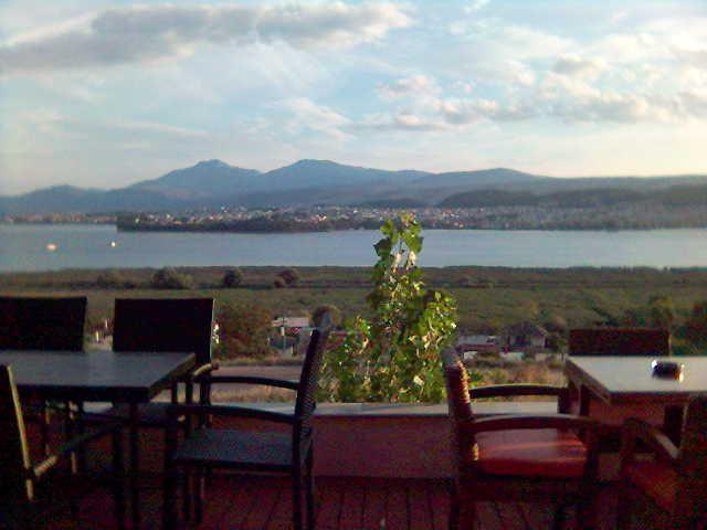 Pamvotis lake in Ioannina-Greece
