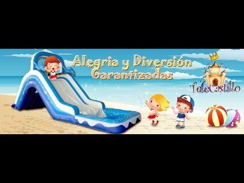 Alquiler castillos hinchables acuaticos - Fiestas Infantiles acuaticas