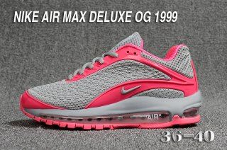 55b58a6cbf7 Womens Shoes Nike Air Max Deluxe OG 1999 Kpu Wolf Grey Pink