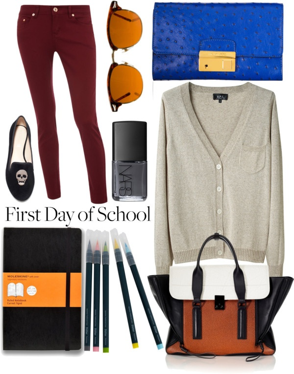 """""""First Day Back to School Contest Set"""" by boundlessbeauty on Polyvore"""