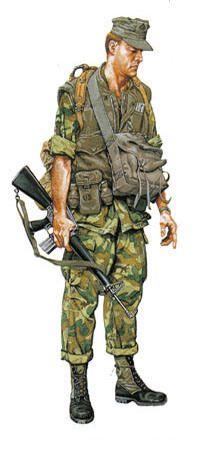 Soldados Guerra del Vietnam.                                                                                                                                                                                 Más