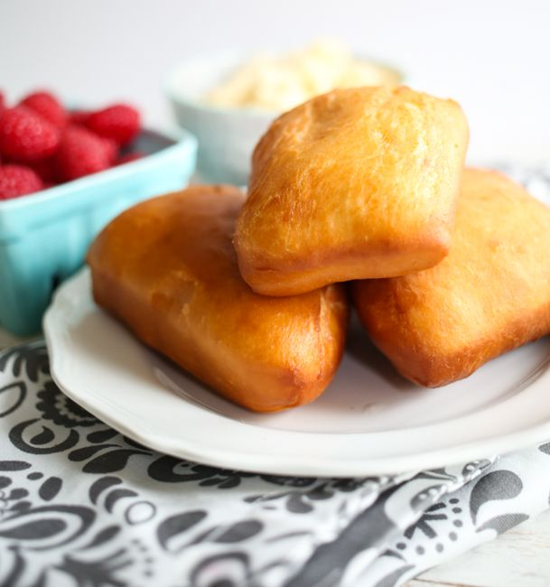Utah Scones with Honey Butter & Raspberries - Our Best Bites