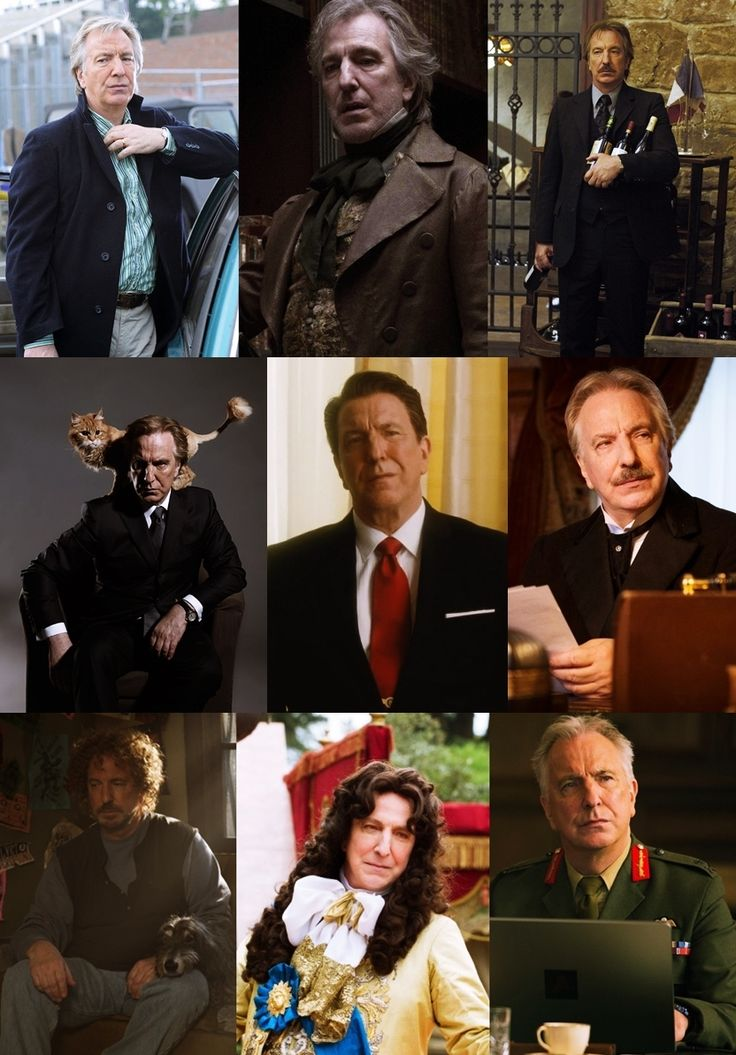 "judasjezebel: ""Alan Rickman Filmography Part III """