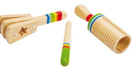 Prime percussioni http://www.borgione.it/Educazione-musicale/Strumenti-musicali-per-i-piu-piccoli-in-legno/Prime-percussioni/ca_2500.html