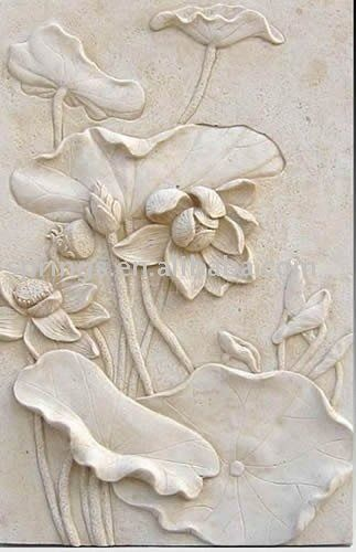Sandstone Relief Wall Decoration Nature Look Pinterest