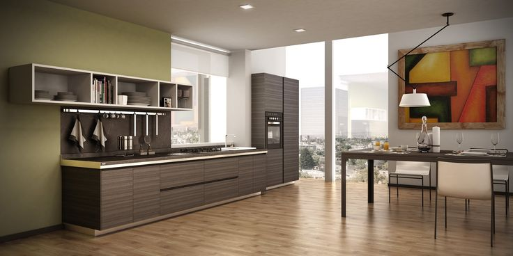 Pintar las paredes es una buena idea para renovar tu #cocina ...