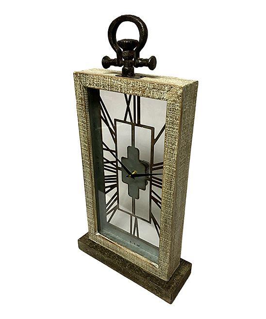 Brown Mantel Clock