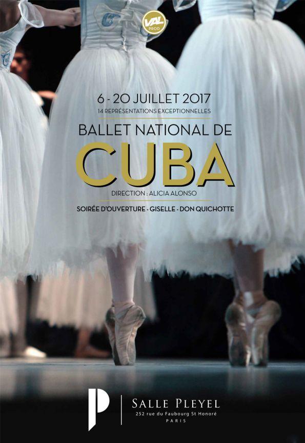 Le Ballet National De Cuba en spectacle à Paris - Salle Pleyel