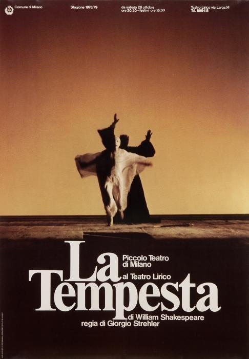 La Tempesta Piccolo Teatro di Milano