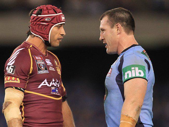 State Of Origin. I don't support either state, but the atmosphere would be incredible.