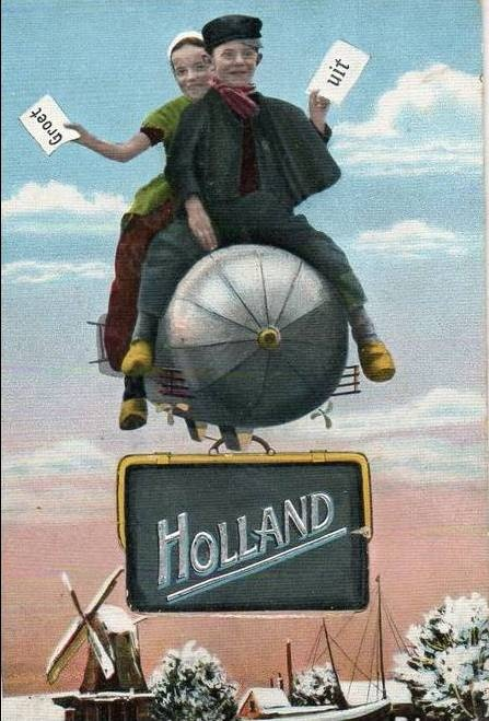 435 best holland images on pinterest holland blue and white and delft vintage postcard greetings from holland m4hsunfo