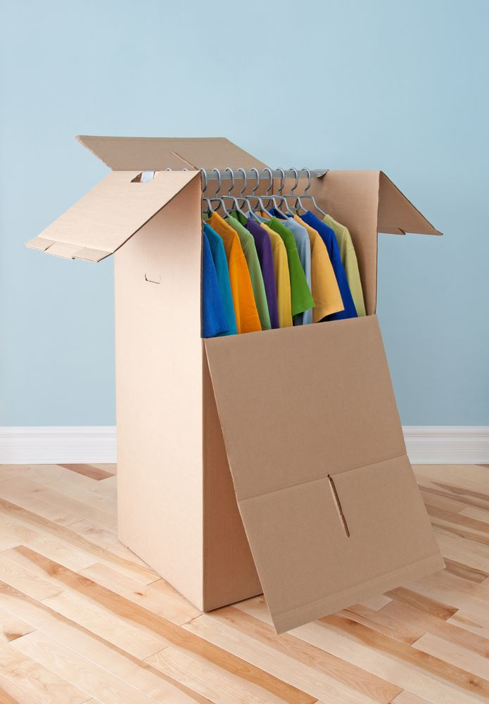Here are some reasons you should be using wardrobe moving boxes to pack up all your clothes.