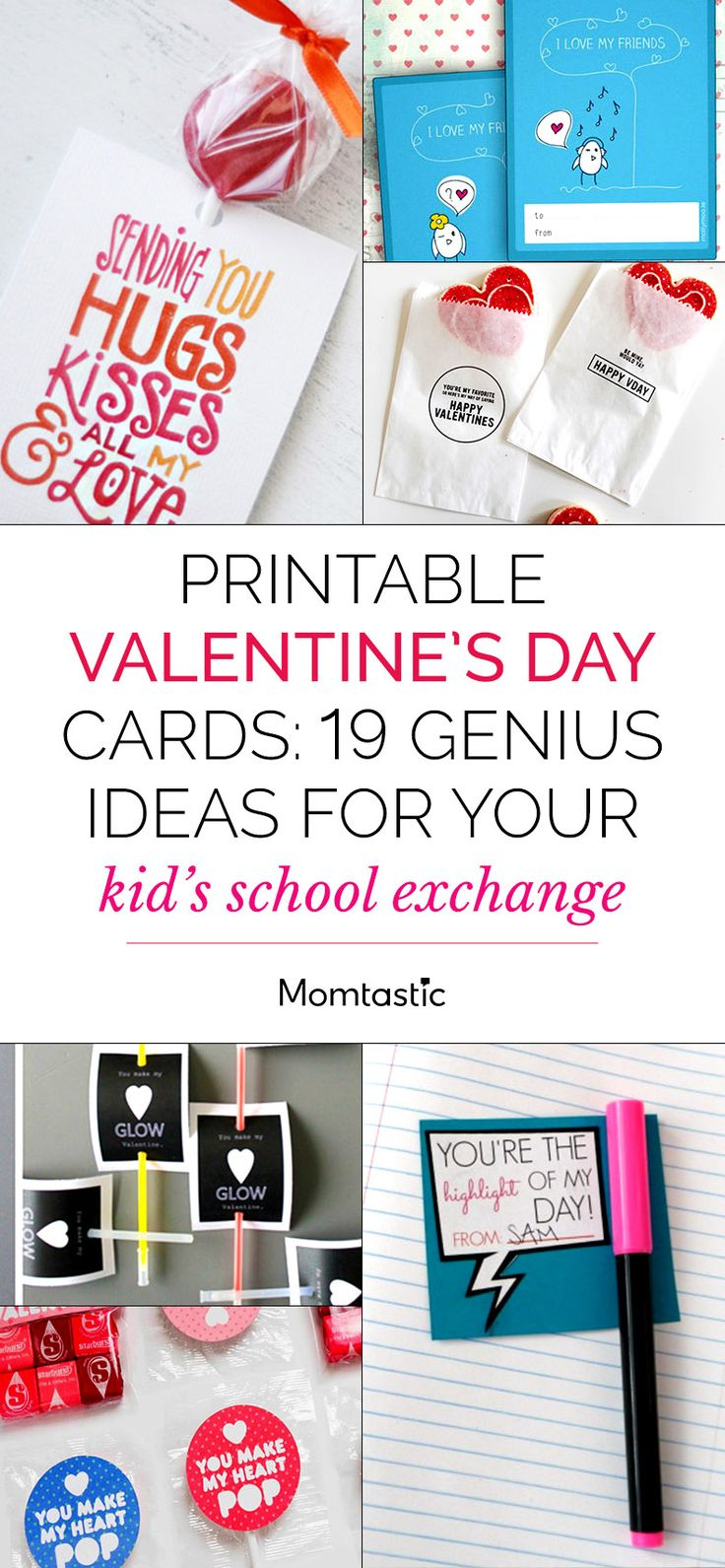 Printable Valentines Day Cards 19 Genius Ideas For Your Kids School Exchange