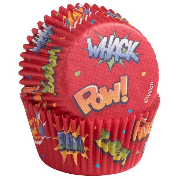 Pow Baking Cups 25/pkg www.partyzone.com.au