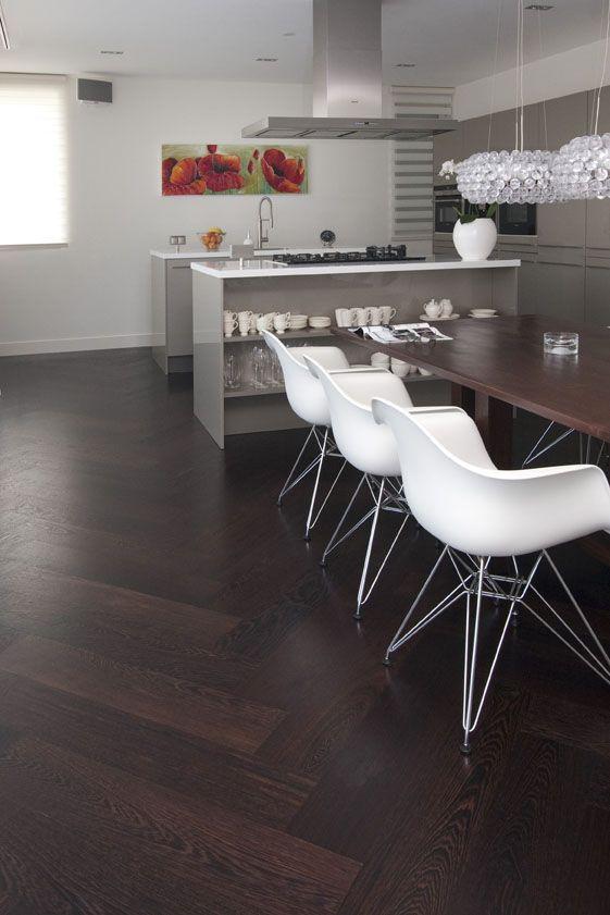 25 beste idee n over donkere houten vloeren op pinterest for Schilderen voor gang d