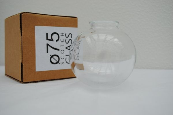 Ø75 Scotch Glass by Kristian Hede, via Behance