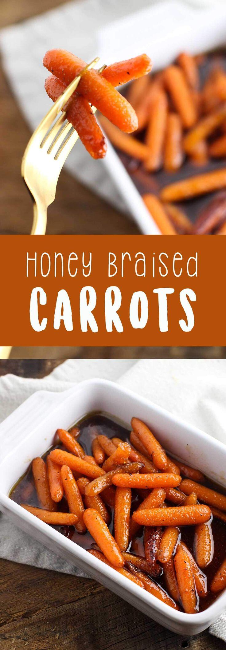 Honey Braised Carrots