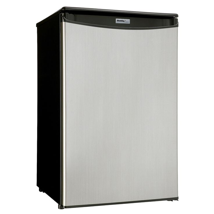 <p>This elegant compact refrigerator by Danby can easily fulfill your family's needs with its 4.4 cubic-feet of storage and cooling space. It features two full shelves for maximum storage versatility as well as another half shelf for additional items and a see-through vegetable crisper with glass top. There's more than enough room for larger bottles and the spacious unit helps keep electricity bills in check with its Energy Star rating and state-of-the-art ...