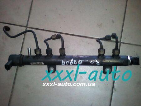 Топливна рейка (рампа) Fiat Doblo 0445214086 1.3 Mjet