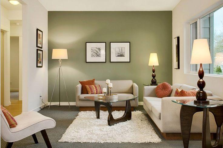 Сочетания зеленого цвета в интерьере гостиной. Лучшие сочетания цветов с зеленым в интерьере.