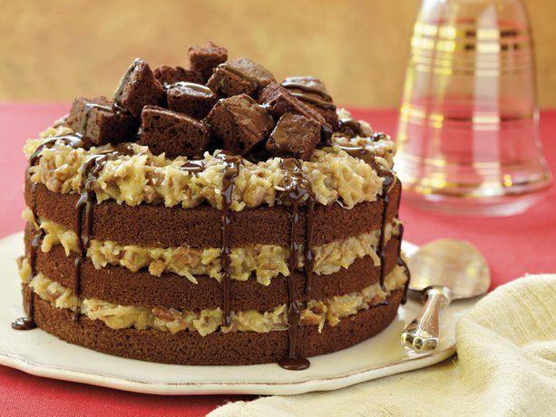 German Chocolate Crazy Cake