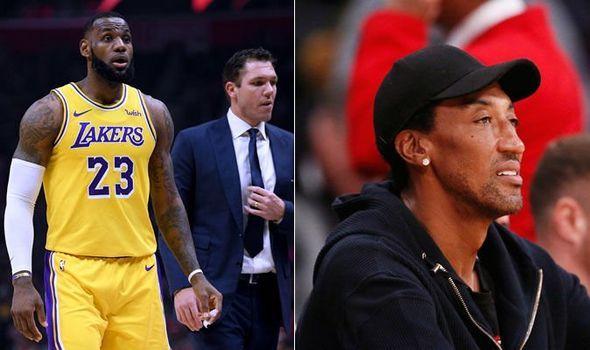 9f80416220f3 LeBron James  Huge Luke Walton claim made by Scottie Pippen it involves a  RETIRED coach