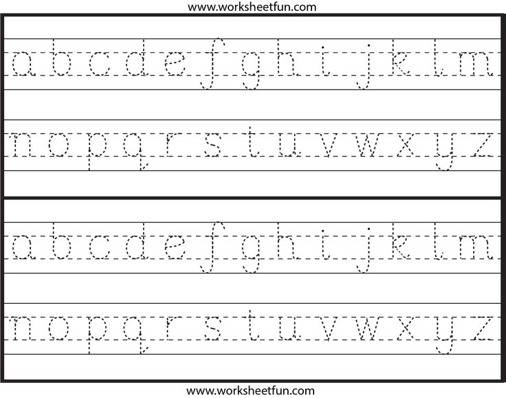 Printables Lowercase Alphabet Tracing 1000 images about kindy writing worksheet on pinterest alphabet here you can find some new design tracing the letters a to z
