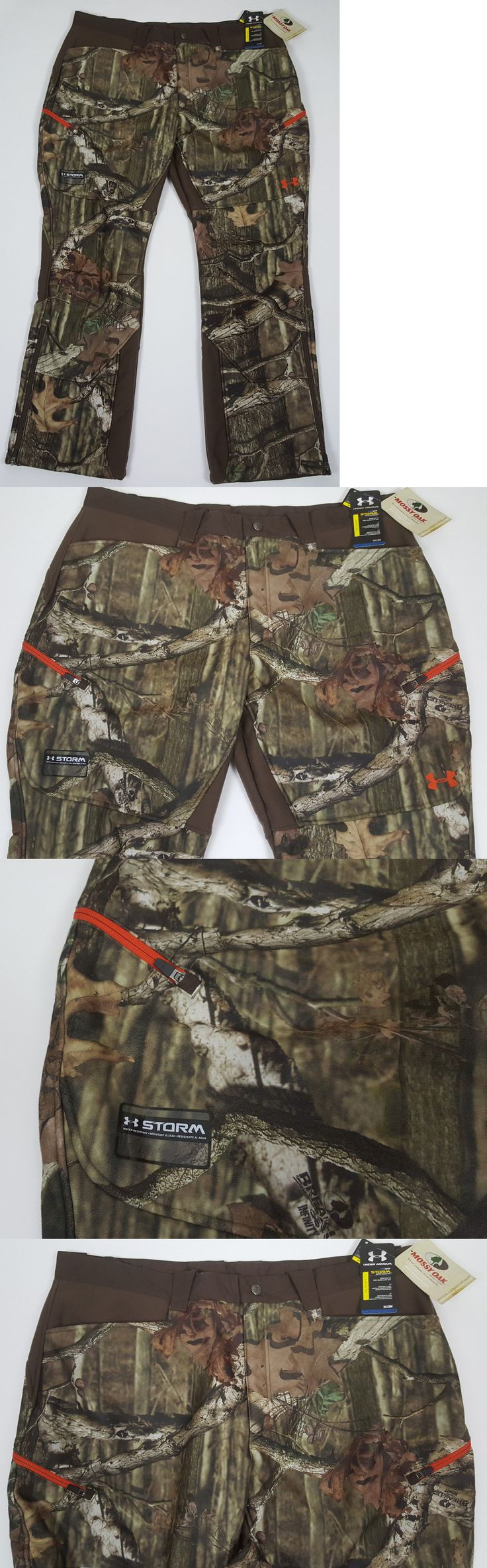 Pants and Bibs 177873: Under Armour Storm Ayton Mossy Oak Camo Hunting Pants $100 1238326-920 (Size 42) -> BUY IT NOW ONLY: $69.99 on eBay!