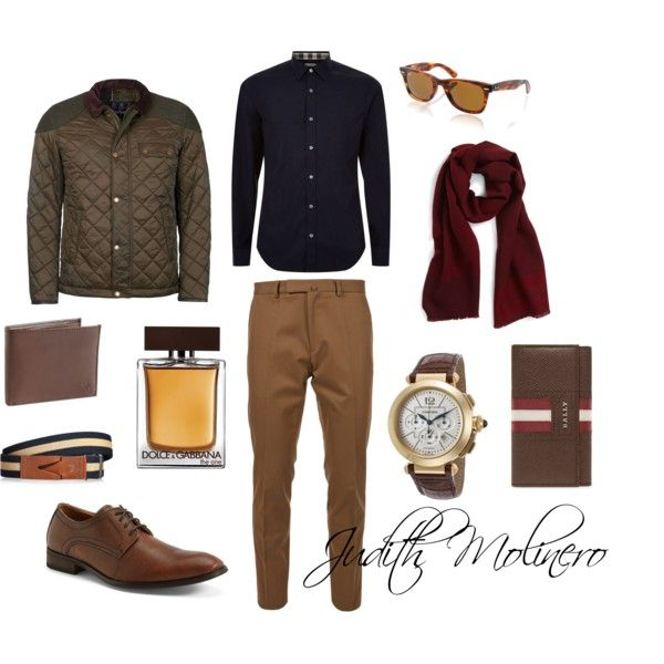 Babour jacket with chino