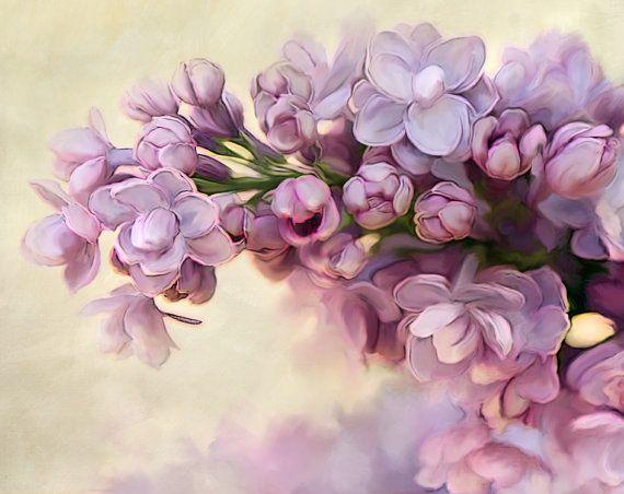 Photographie, Nature florale Photograhy, Photo Lila, lilas Print, impression de fleur, fleur Photo
