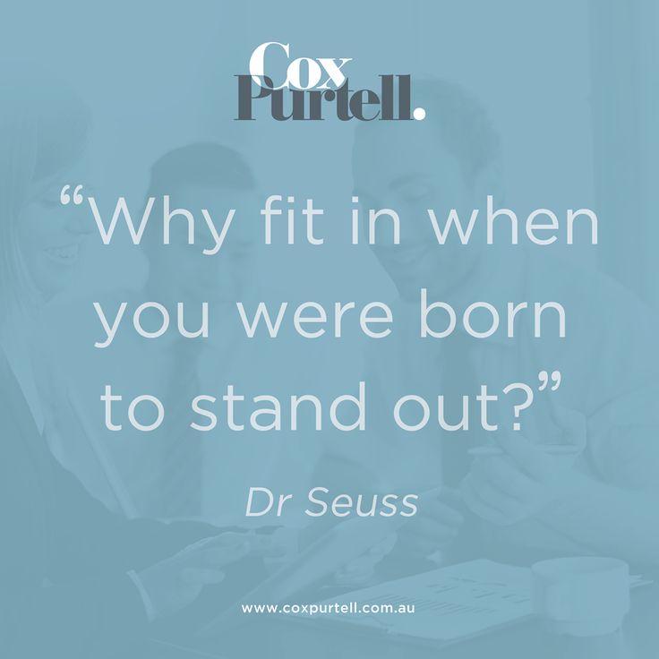 Dr Seuss Quote - Cox Purtell Recruitment