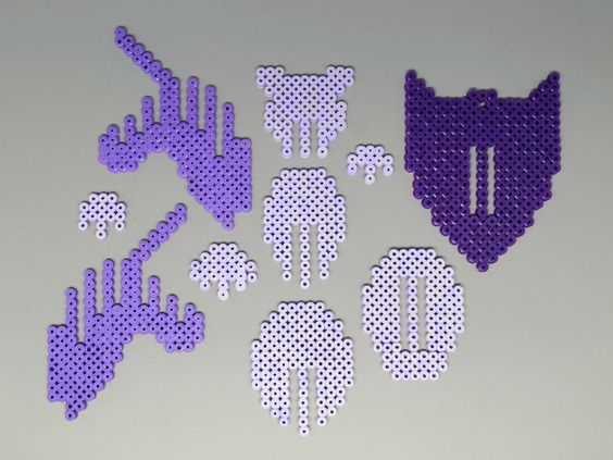 (122) Unicorn Head | 3D Perler Bead | 3D Fuse Bead | Puzzle | Wall Decor | Multiple Colors | Three Sizes